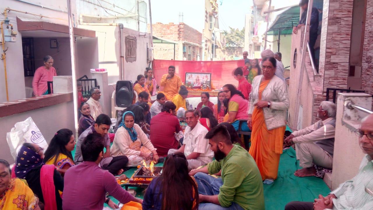 5 Kundi Gayatri yagya at Ektapark society isanpur Ahmedabad religious gujarat 4